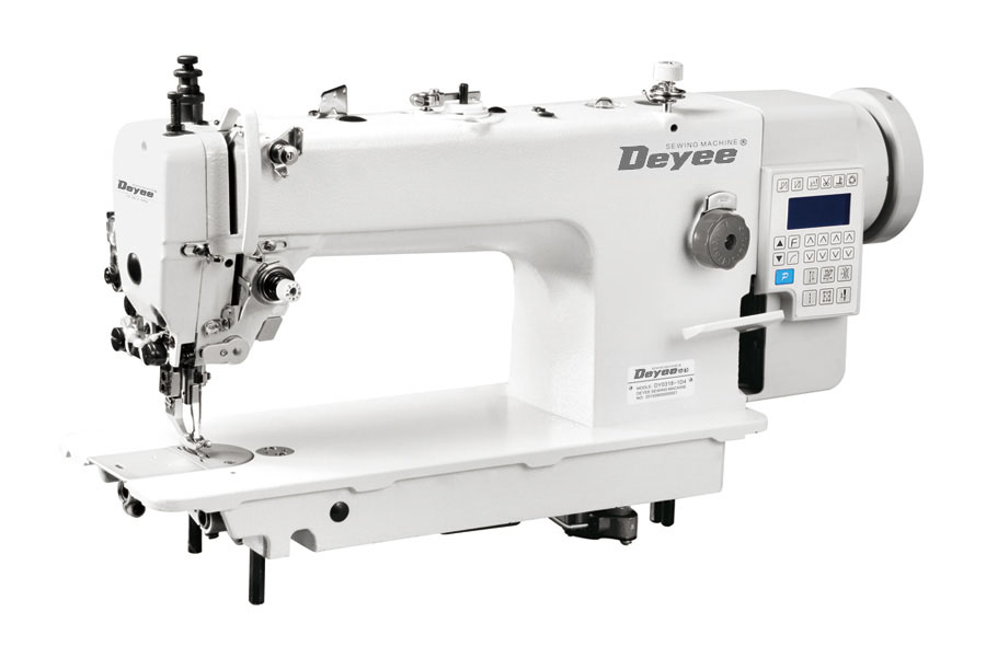 Direct Drive Heavy Duty Top And Bottom Feed Lockstitch Sewing Machine With Auto Thread Trimmer