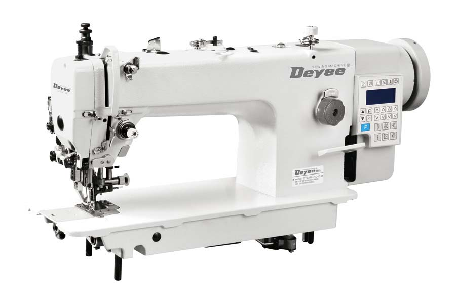 Direct Drive Heavy Duty Top And Bottom Feed Lockstitch Sewing Machine With Edge Cutter And Auto Thread Trimmer