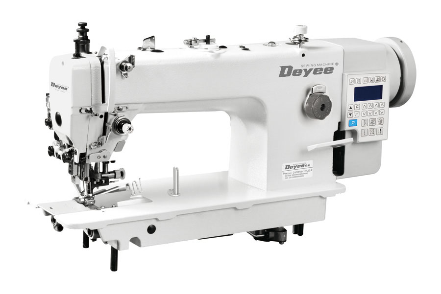 Direct Drive Heavy Duty Top And Bottom Feed Lockstitch Sewing Machine With Edge Cutter And Edge Binder