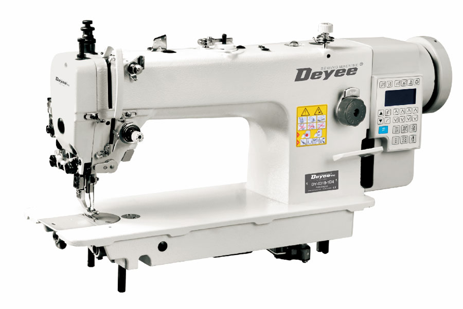 Direct-drive Heavy Duty Top And Botton Feed Lockstitch Sewing Machine With Auto Trimmer