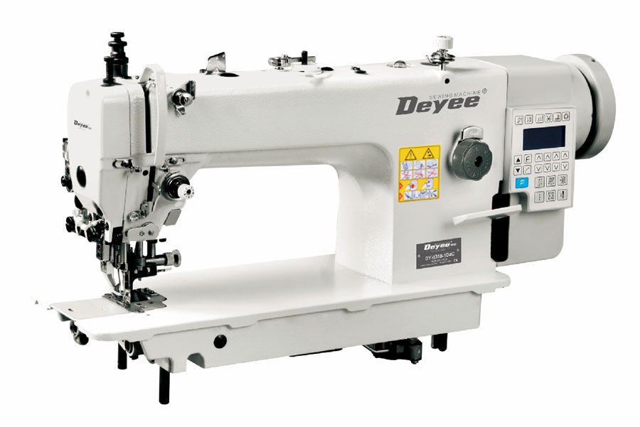 Direct-Drive Heavy Duty Top And Botton Feed Lockstitch Sewing Machine With Edge Cutter And Auto Trimmer
