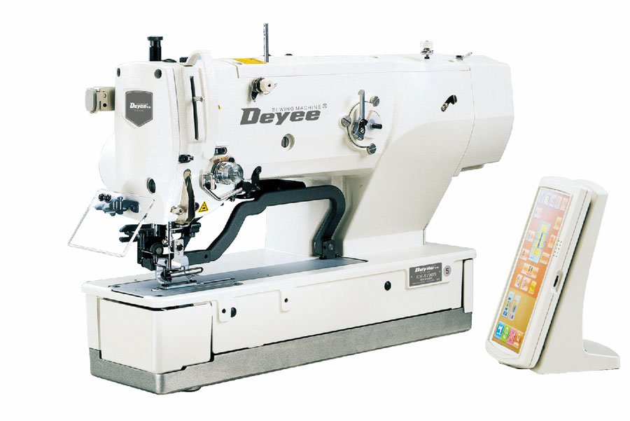 Direct-drive Straight Button Holing Sewing Machine With Auto Trimmer