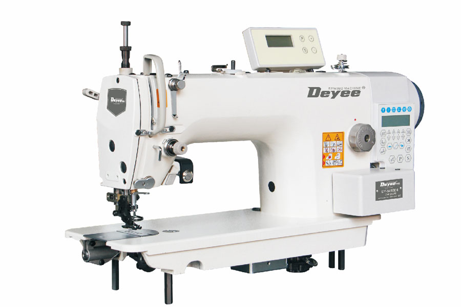 Direct-drive On The Differential Feed Lockstitch Sewing Machine With Auto Trimmer