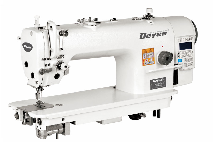 Direct-drive X-feed Lockstitch Sewing Machine With Auto Trimmer