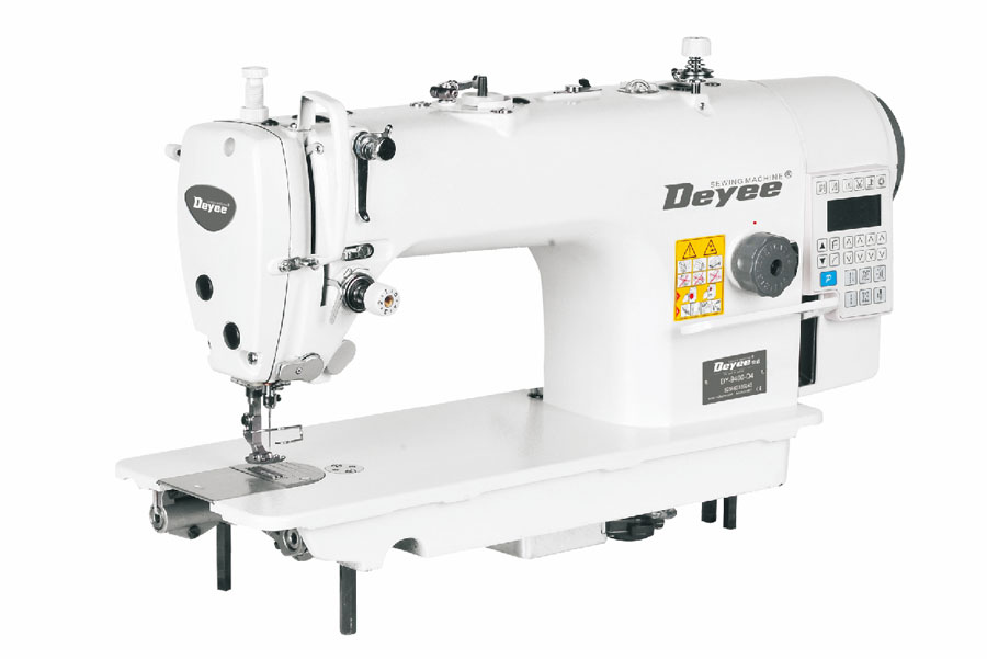 Direct-drive Lockstitch Sewing Machine With Auto Trimmer
