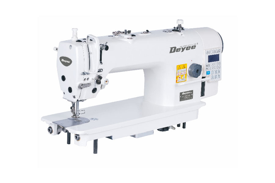 Direct-drive Needle Feed Lockstitch Sewing Machine With Auto Trimmer